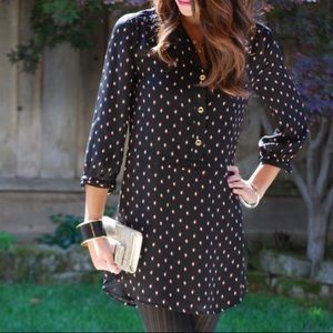 Juicy Couture Leaf Print Dress
